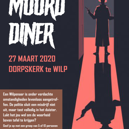 Poster Moorddiner
